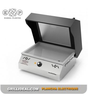 Plancha électrique inox avec aspiration BAIGURA