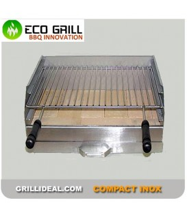 Barbecue Compact Inox Ecogrill