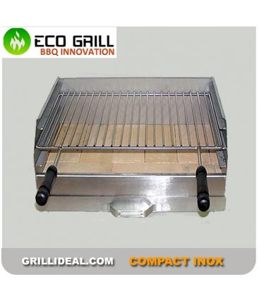 Barbecue Ecogrill Compact Inox 40