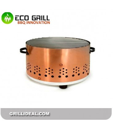 Grill de table Round BBQ cooper
