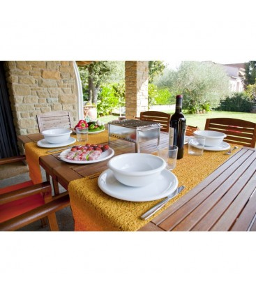 BBQ LUX GLASS PARRILA DELUX-R 25*20