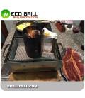 BBQ LUX GLASS PARRILA DELUX-R 35*25