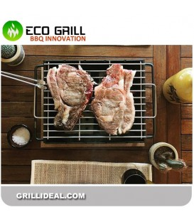BBQ LUX GLASS PARRILA DELUX-R 30*25