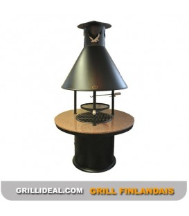 GRILL FINLANDAIS JALO + TABLE GRANT