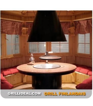 GRILL FINLANDAIS JALO + TABLE GRANT
