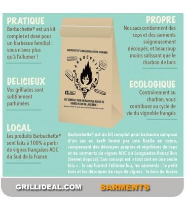 BARBUCHETTE© Kit Eco Pour Barbecue