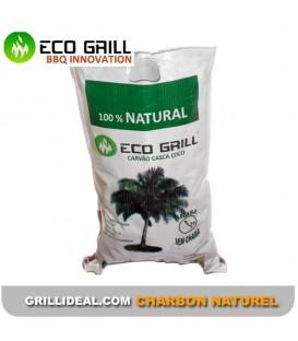 Charbon écologique ECOGRILL 100% naturel - Noix de coco x 60 paquets